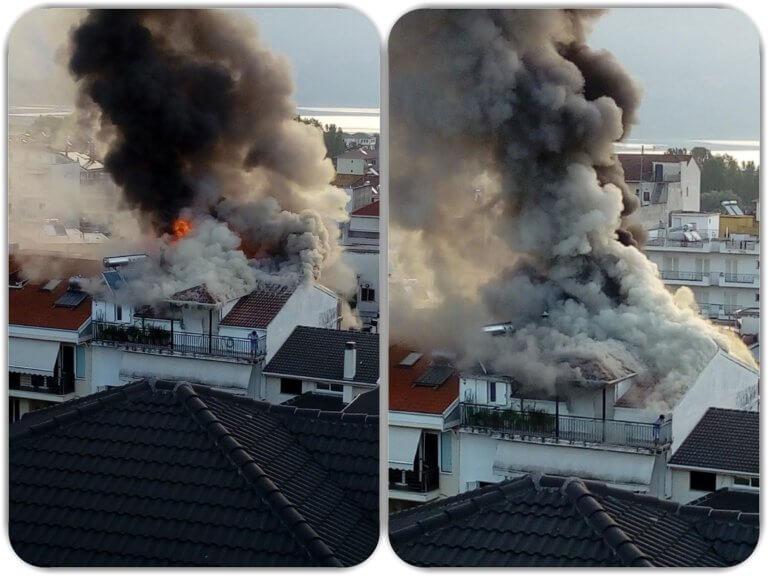 Γιάννενα: Φωτιά έκανε στάχτη διαμέρισμα – Επιχείρηση για τον απεγκλωβισμό γυναίκας από μπαλκόνι [pic]