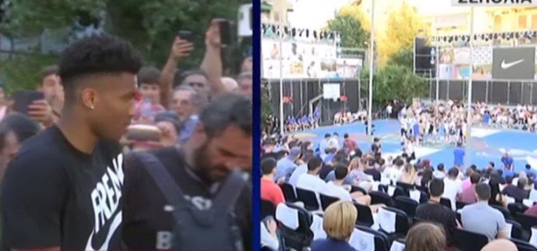 Αντετοκούνμπο: «Βουλιάζουν» τα Σεπόλια για τον MVP μας!