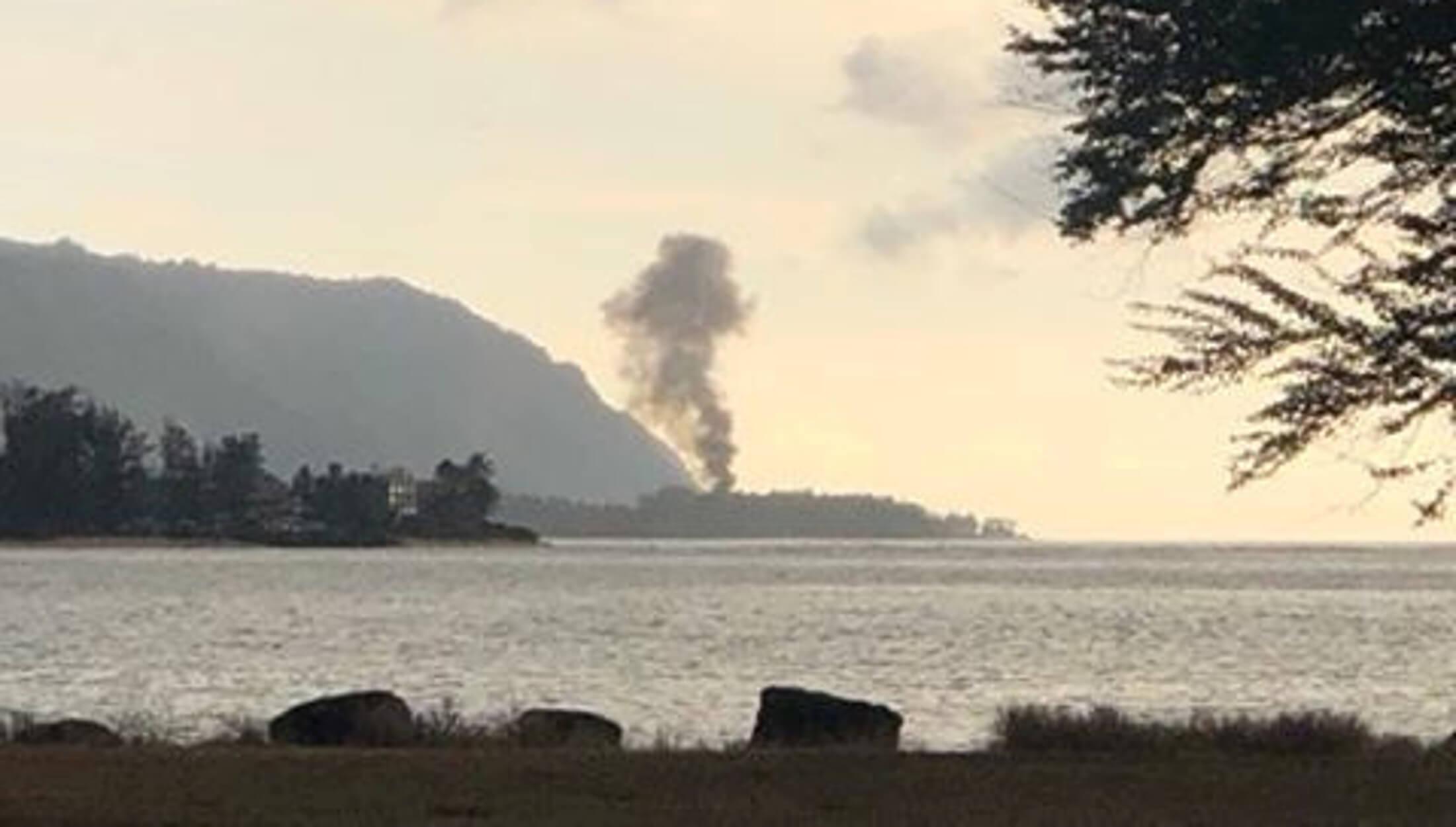 Συντριβή αεροσκάφους στην Χαβάη - 9 νεκροί [pic]
