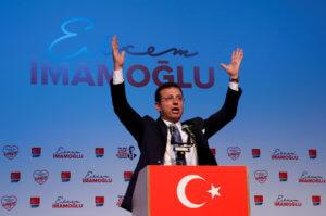 Ιμάμογλου: Στις 23 Ιουνίου δεν υπάρχει άλλος δρόμος από την δημοκρατία