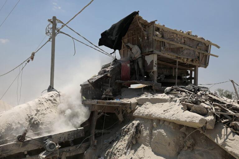 Γάζα: Ισραηλινή αεροπορική επιδρομή ως αντίποινα για την εκτόξευση ρουκέτας