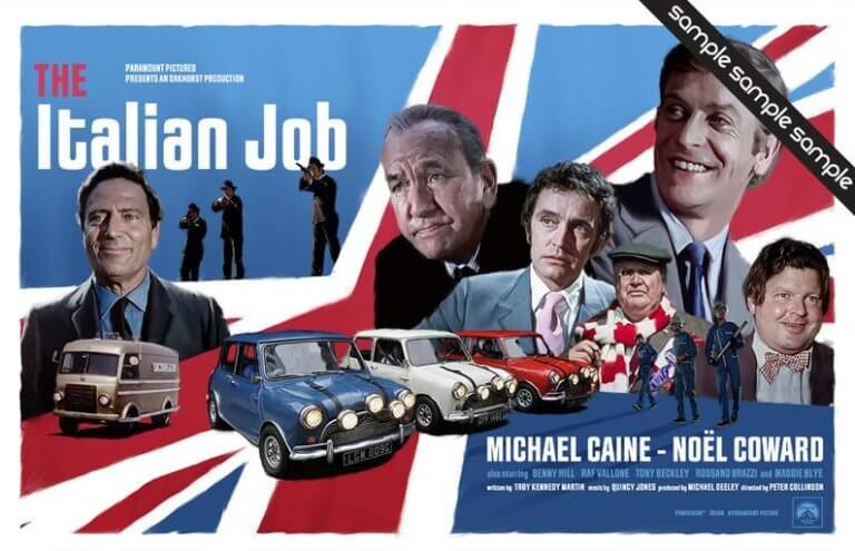 Κι όμως, ο διάσημος πρωταγωνιστής της ταινίας «Τhe Italian Job», δεν ήξερε να οδηγεί! [vid]
