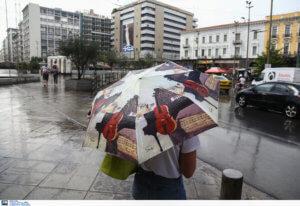 Καιρός σήμερα: Μαγιό στις… ντουλάπες και ομπρέλες ανά χείρας – Βροχές σε όλη την χώρα