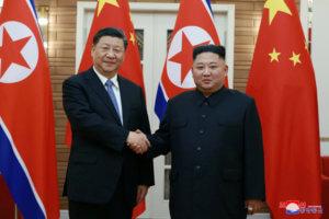 Συνάντηση Σι Τζινπίνγκ – Κιμ Γιονγκ Ουν: Στο επίκεντρο η ειρήνη στην περιοχή [pics]