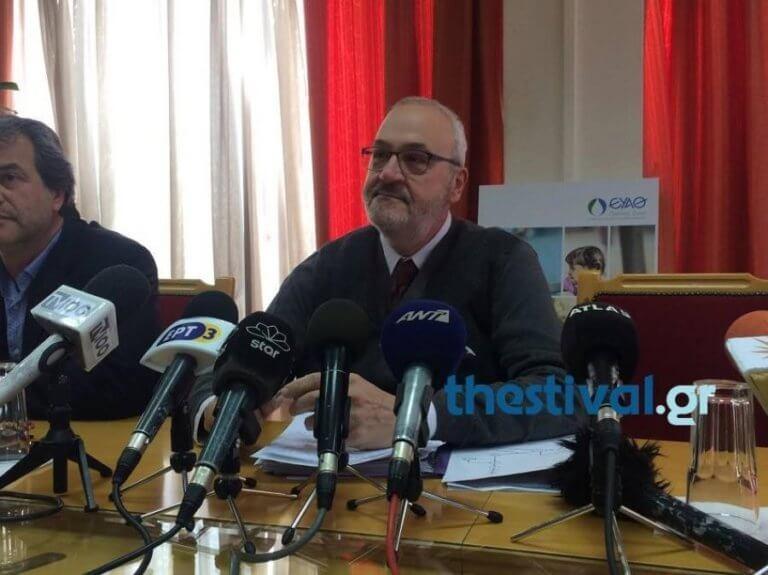 Παραιτήθηκε ο πρόεδρος της ΕΥΑΘ, Γιάννης Κρεστενίτης