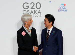 Σύνοδος G20: Μείωση δασμών και ελεύθερο εμπόριο ζητούν Λαγκάρντ και Άμπε