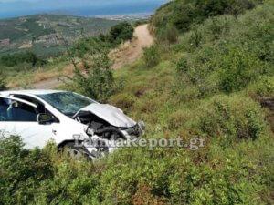 Αταλάντη: Νεκρός ο οδηγός αυτοκινήτου που έπεσε σε γκρεμό [pics]