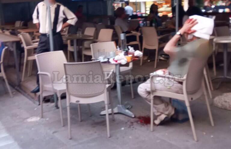 Λαμία: Του άνοιξε το κεφάλι στο κέντρο της πλατείας για μια παρεξήγηση