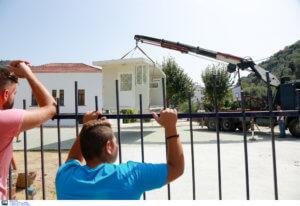 Λέσβος: Αποκατάσταση διατηρητέων σχολείων που υπέστησαν ζημιές κατά τους σεισμούς του περασμένου καλοκαιριού!