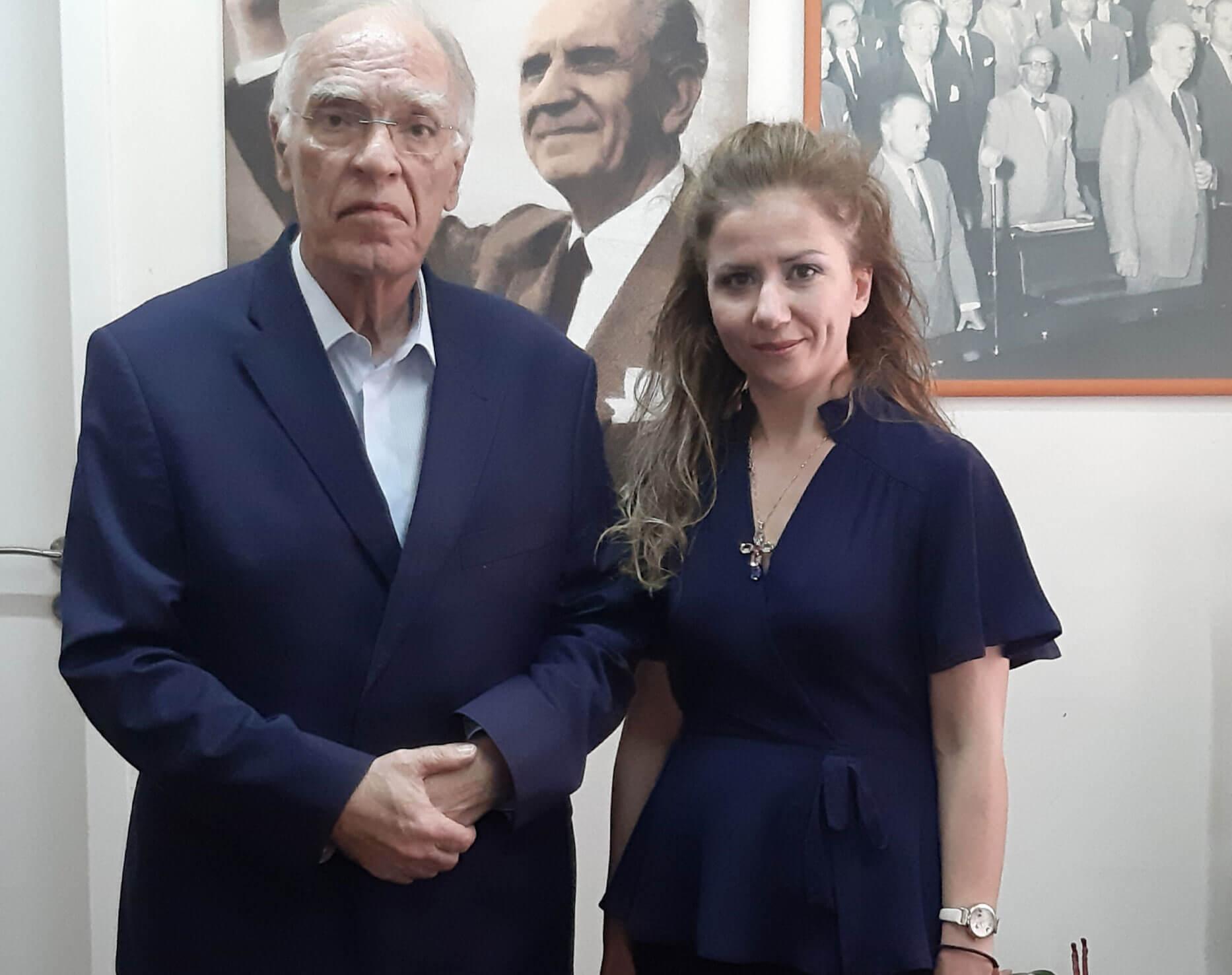 Επικεφαλής στο Επικρατείας της Ένωσης Κεντρώων η αδερφή του Κωνσταντίνου Κατσίφα