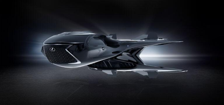 Ένα ιπτάμενο Lexus για την ταινία «Men in Black: International» [pics]