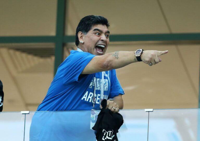 """Copa America: Έξαλλος ο Μαραντόνα με την Εθνική του Μέσι! """"Το μ@@@ί της μάνας τους"""""""