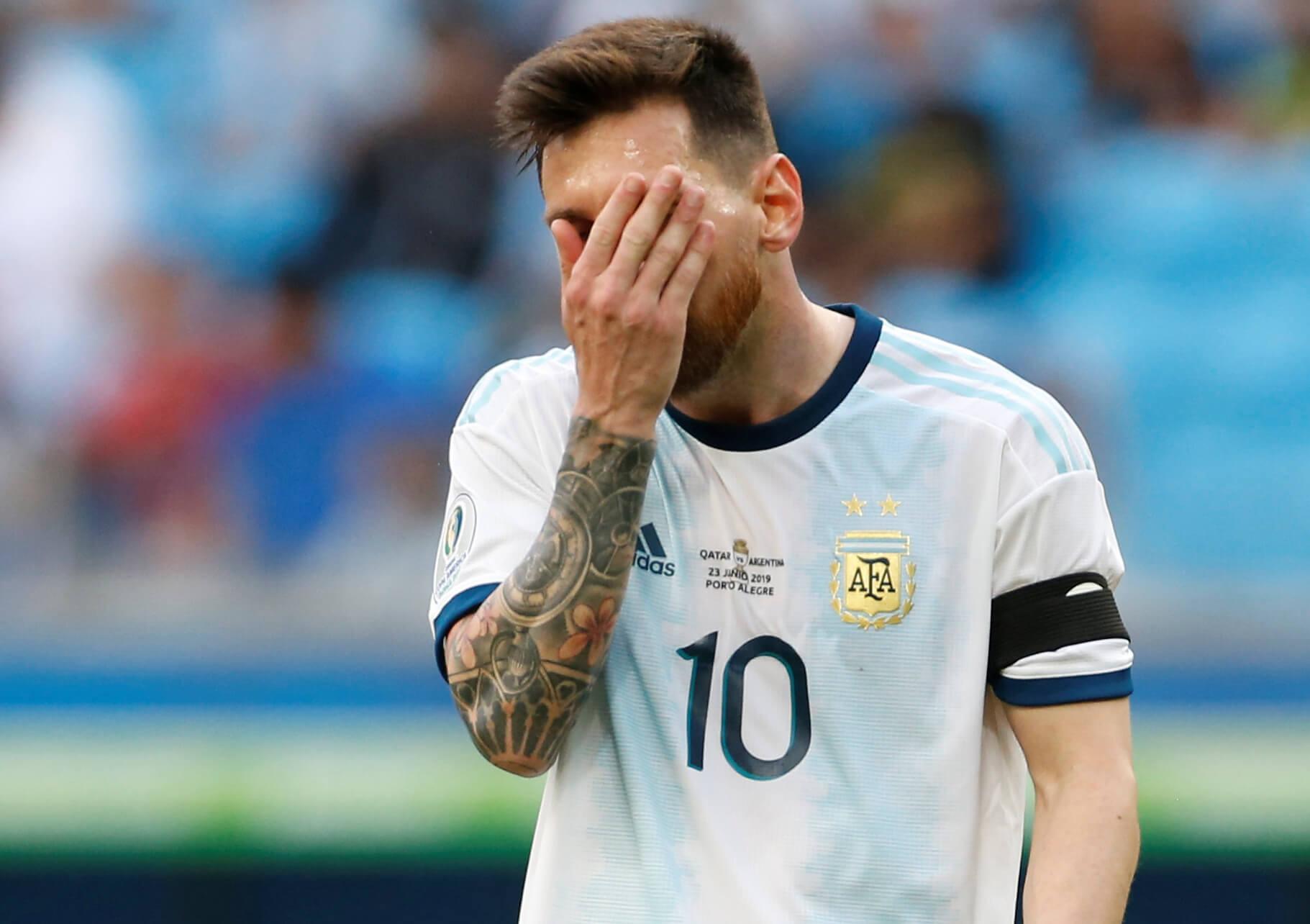 "CONMEBOL: ""Όχι"" στον Μέσι! Παραμένει η ποινή αποκλεισμού"
