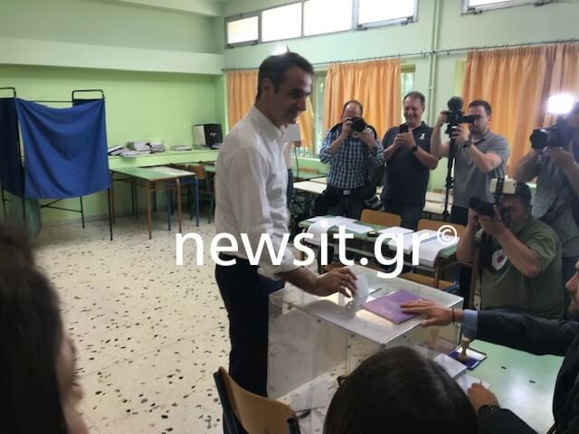 Εκλογές 2019 – Μητσοτάκης: Να προσέλθουν οι πολίτες στις κάλπες [video, pics]