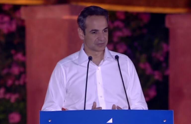 Μητσοτάκης: Θα είμαι υποψήφιος στην Αχαΐα – Τι είπε στην ομιλία του στην Πάτρα