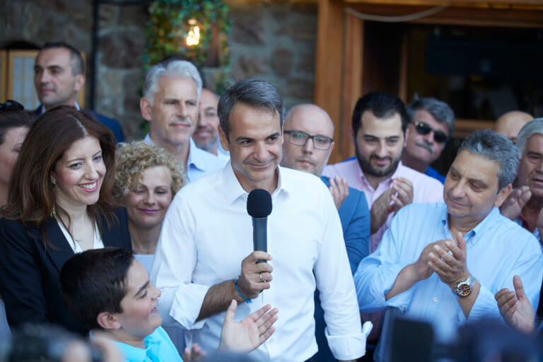 Μητσοτάκης από Χαλκίδα: Είναι σημαντικό ο επόμενος πρωθυπουργός να λάβει ισχυρή εντολή για να αλλάξει τη χώρα