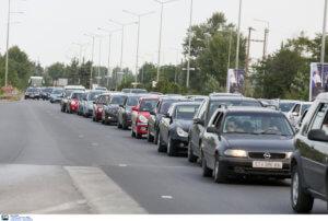 Κίνηση στους δρόμους: Απίστευτο μποτιλιάρισμα παντού