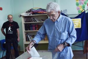 Εκλογές 2019 – Μπουτάρης: Ψήφισε για τον διάδοχό του και σχολίασε τις εξελίξεις στο ΚΙΝΑΛ – video