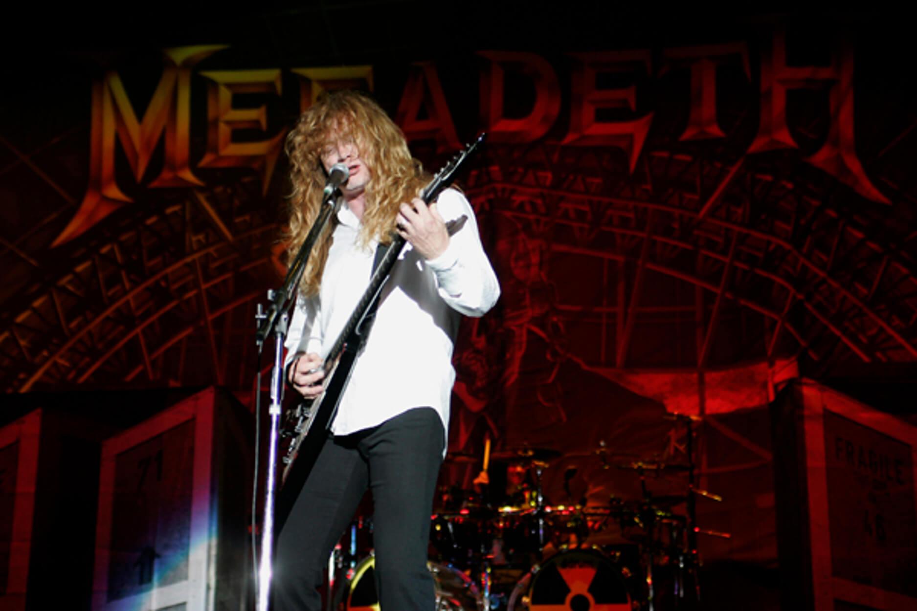 """Σοκ στον """"κόσμο"""" της metal! Πάσχει από καρκίνο του λάρυγγα ο Dave Mustaine των Megadeth"""