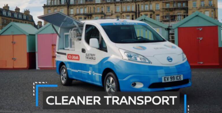 Η Nissan καινοτομεί με ένα… παγωτατζίδικο – Video