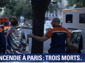 Παρίσι: Φωτιά σε κτίριο στο κέντρο της πόλης – Τρεις νεκροί – video