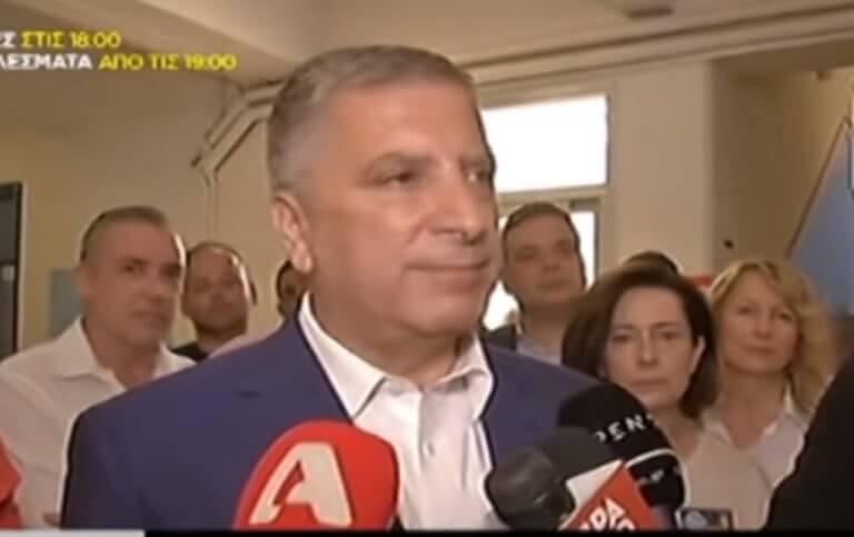 Εκλογές 2019: Για νέα αρχή στην Αττική έκανε λόγο ο Γιώργος Πατούλης