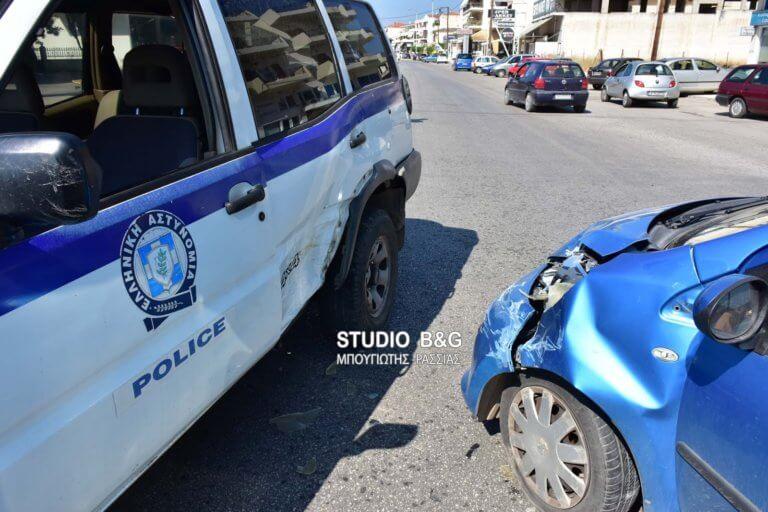 Τροχαίο με περιπολικό στο Ναύπλιο [video, pics]