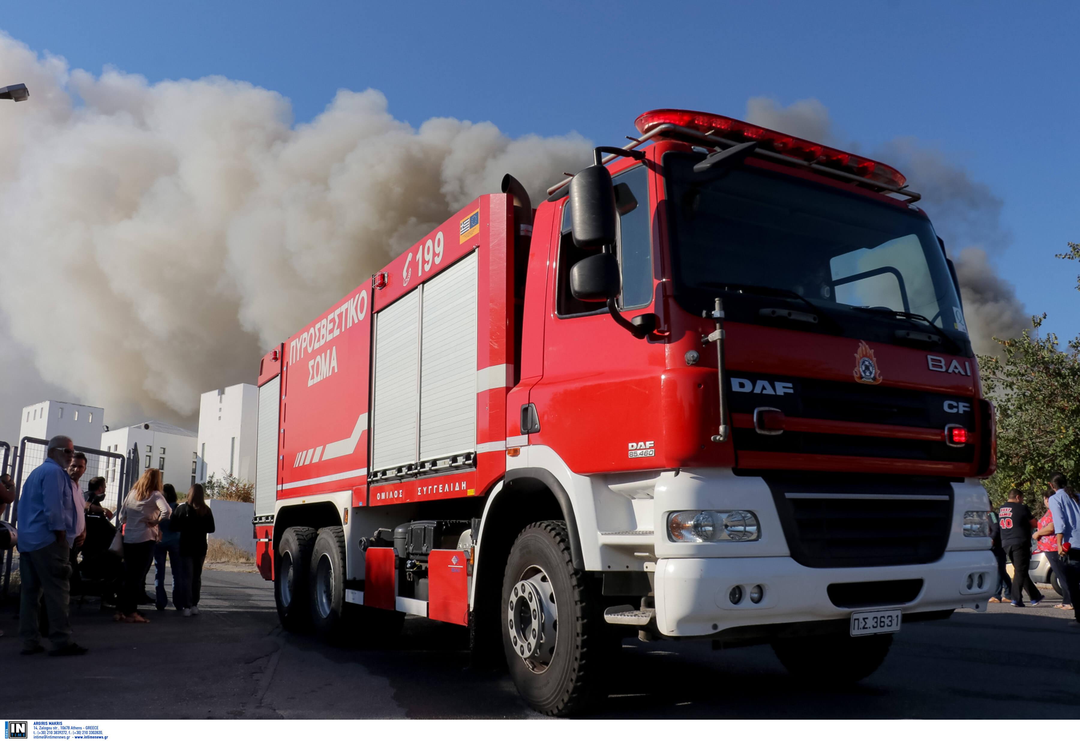 Μαραθώνας: Φωτιά τα ξημερώματα σε δασική περιοχή