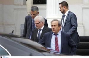 «Επίθεση» Πλατινί σε Ινφαντίνο: «Δεν γίνεται να είναι αυτός πρόεδρος της FIFA!»