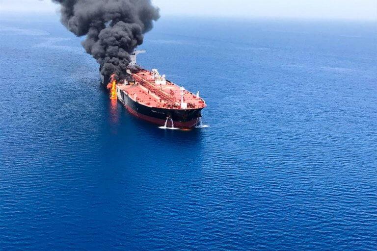 Αρνείται κάθε ευθύνη το Ιράν για την επίθεση στα δεξαμενόπλοια