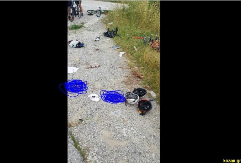 Πτολεμαΐδα: Δύο νεκροί, τέσσερις τραυματίες στο τροχαίο με τους ποδηλάτες
