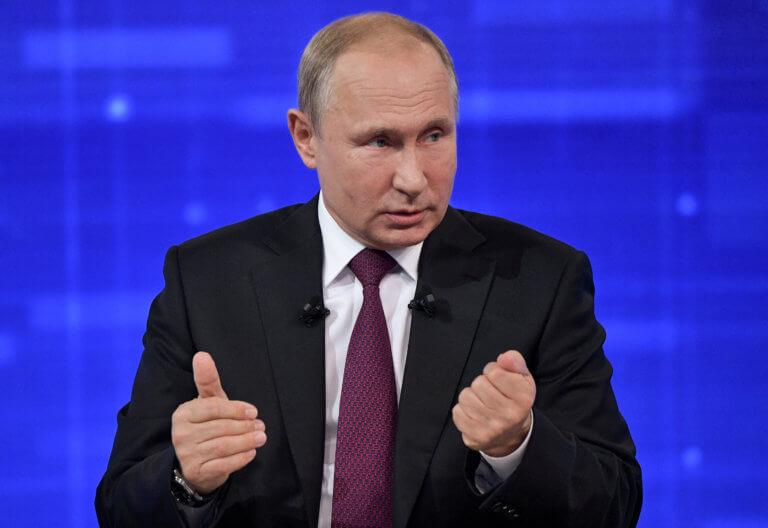 Ξεκάθαρος ο Πούτιν! «Ξεχάστε την επιστροφή της Σοβιετικής Ένωσης»!