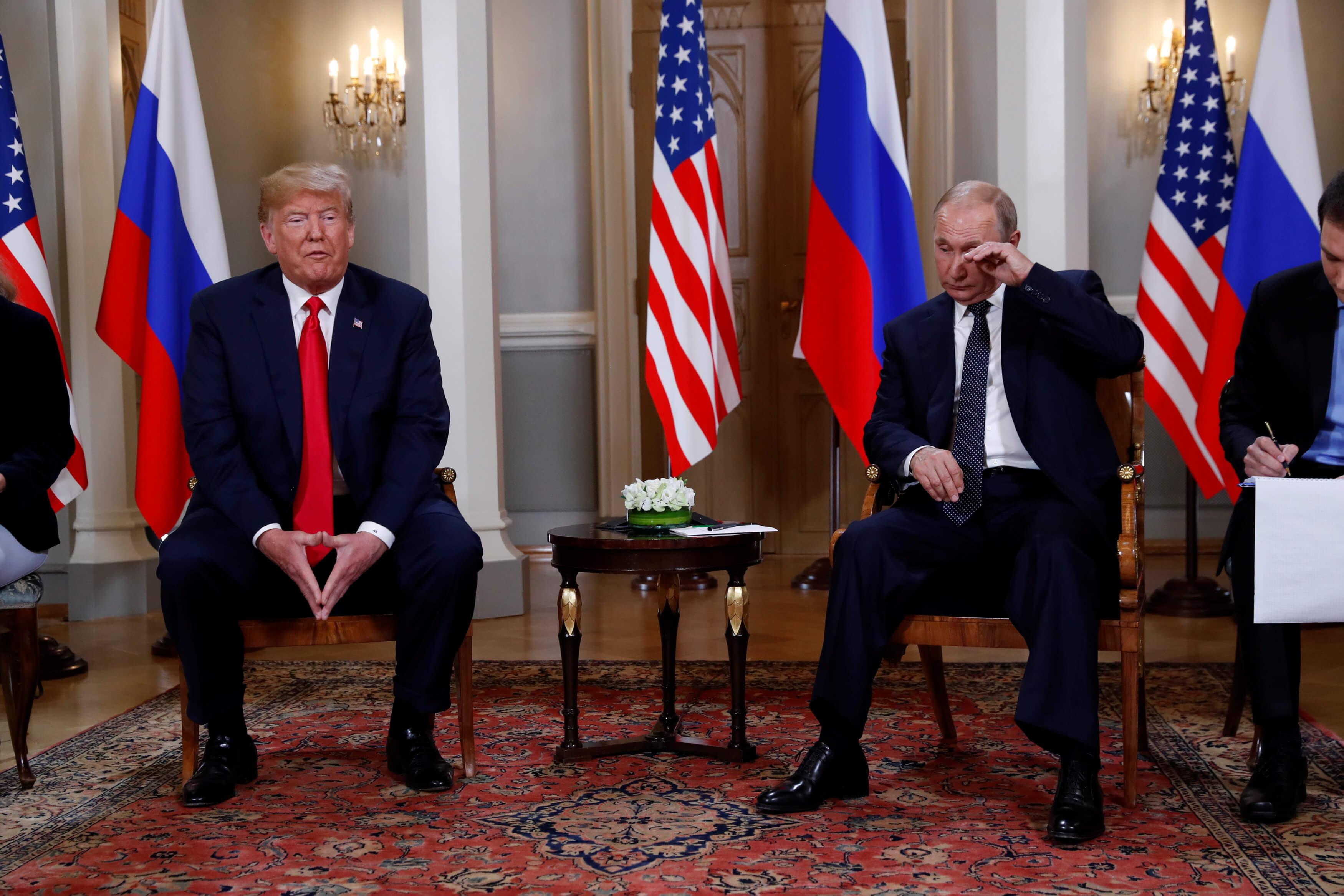 Χολή Πούτιν πριν από τη συνάντηση με Τραμπ: Οι σχέσεις Ρωσίας - ΗΠΑ γίνονται όλο και χειρότερες