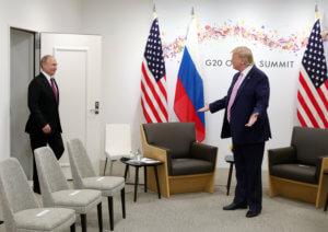 Ο Πούτιν κάλεσε τον Τραμπ στη Μόσχα για την Ημέρα της Νίκης