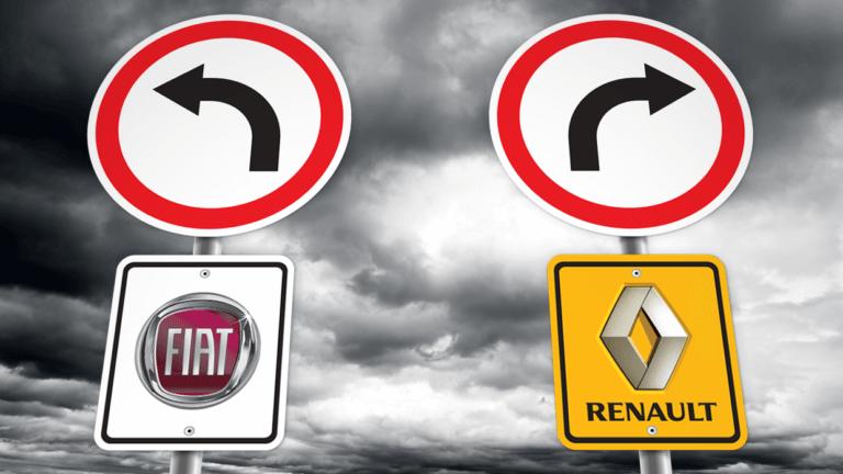 FIAT και Renault αναζητούν τρόπο να αναθερμάνουν τις συνομιλίες συγχώνευσης