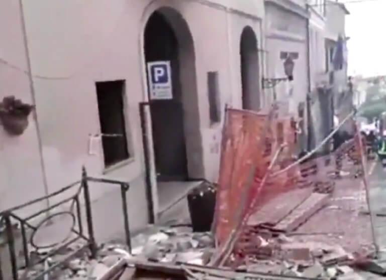 Έκρηξη με τραυματίες στη Ρώμη – Κατέρρευσε τριώροφο κτίριο