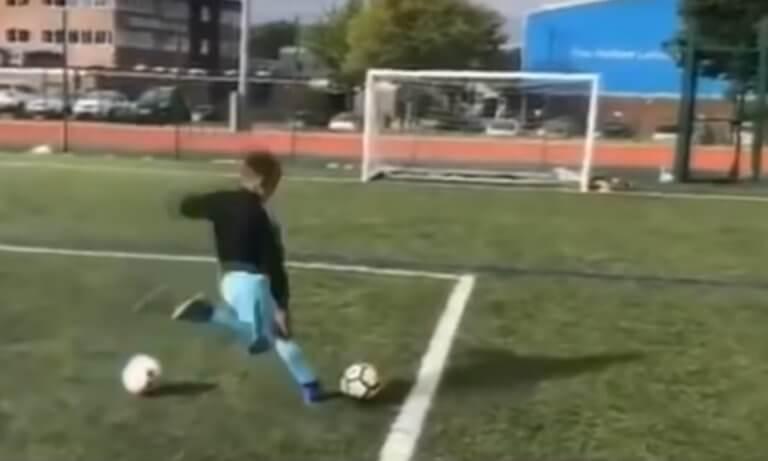 Μικρός Ροναλντίνιο! Έκανε το… ασύλληπτο και κέρδισε Play Station – videos