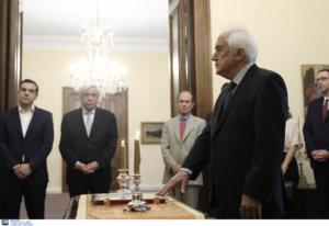 Εκλογές 2019: Ορκίστηκε υπουργός Εσωτερικών ο Αντώνης Ρουπακιώτης