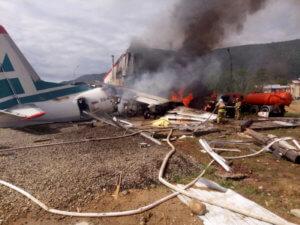 Ρωσία: Η στιγμή της συντριβής αεροπλάνου! Σοκαριστικές εικόνες