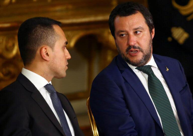 Ιταλία: Υποσχέθηκαν να… μην μαλώνουν Ντι Μάιο και Σαλβίνι