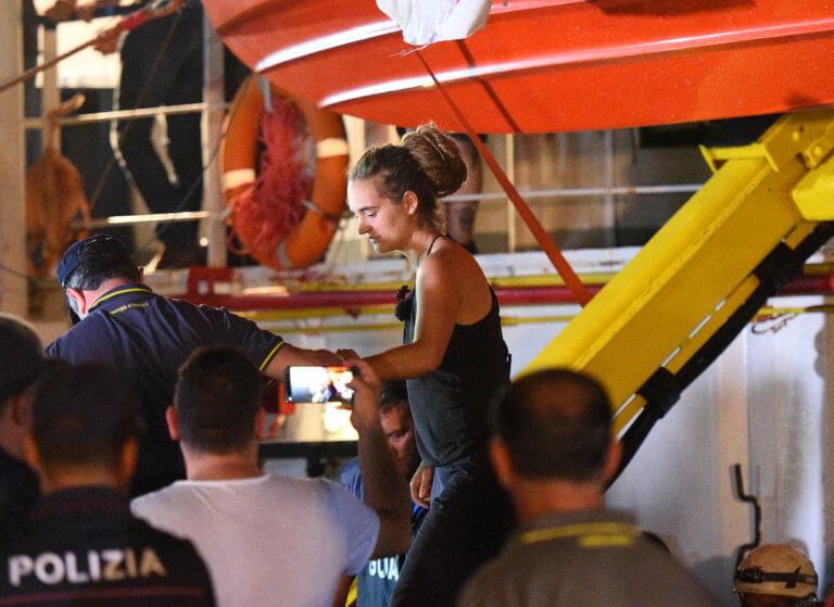 Διεθνείς αντιδράσεις από την σύλληψη της Καρόλα Ρακέτε και την κατάσχεση του πλοίου Sea Watch