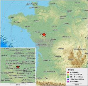 Σεισμός 4,8 ρίχτερ στην Γαλλία!