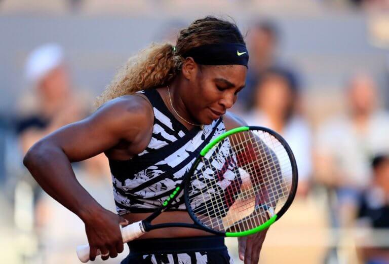 «Βόμβα» στο Roland Garros! Αποκλείστηκε η Σερένα Γουίλιαμς
