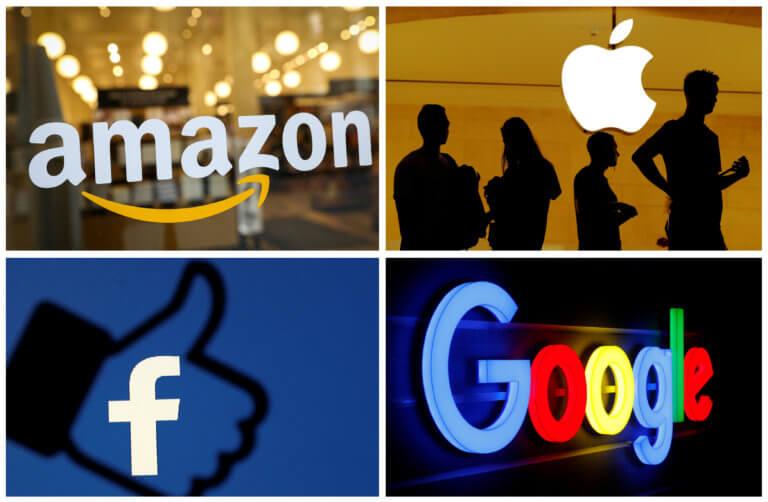 ΗΠΑ: Στο στόχαστρο της αμερικανικής κυβέρνησης Google, Amazon, Apple και Facebook
