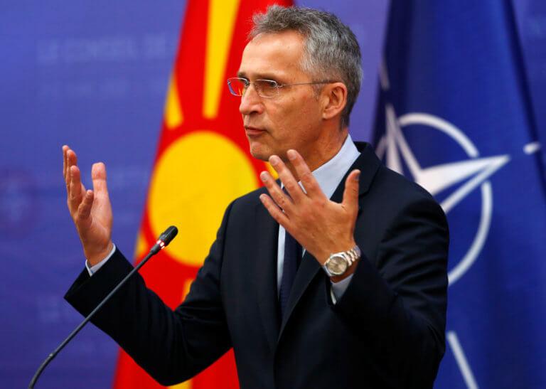 Ο Στόλτενμπεργκ θέλει… γρήγορα την Βόρεια Μακεδονία στο ΝΑΤΟ!