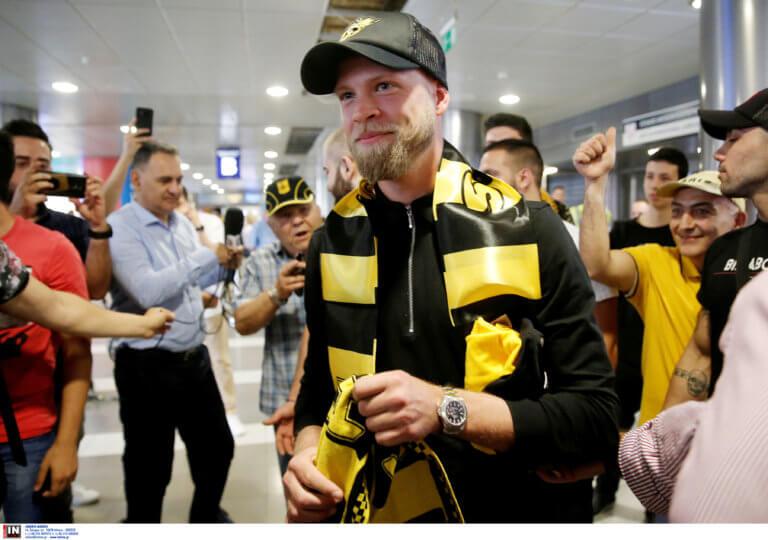 Άρης: Στα κίτρινα ο Σούντγκρεν! Φόρεσε τη φανέλα της επόμενης σεζόν