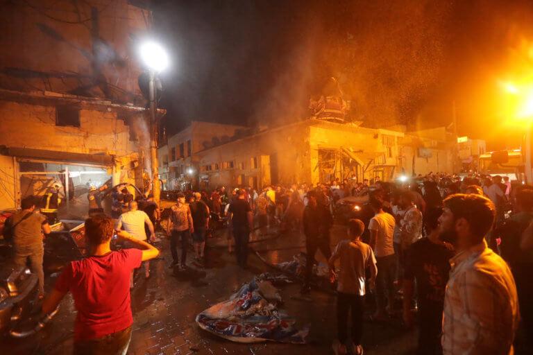 Συρία: Νέα τραγωδία – 14 νεκροί από έκρηξη «παγιδευμένου» οχήματος – Εικόνες φρίκης [pics]