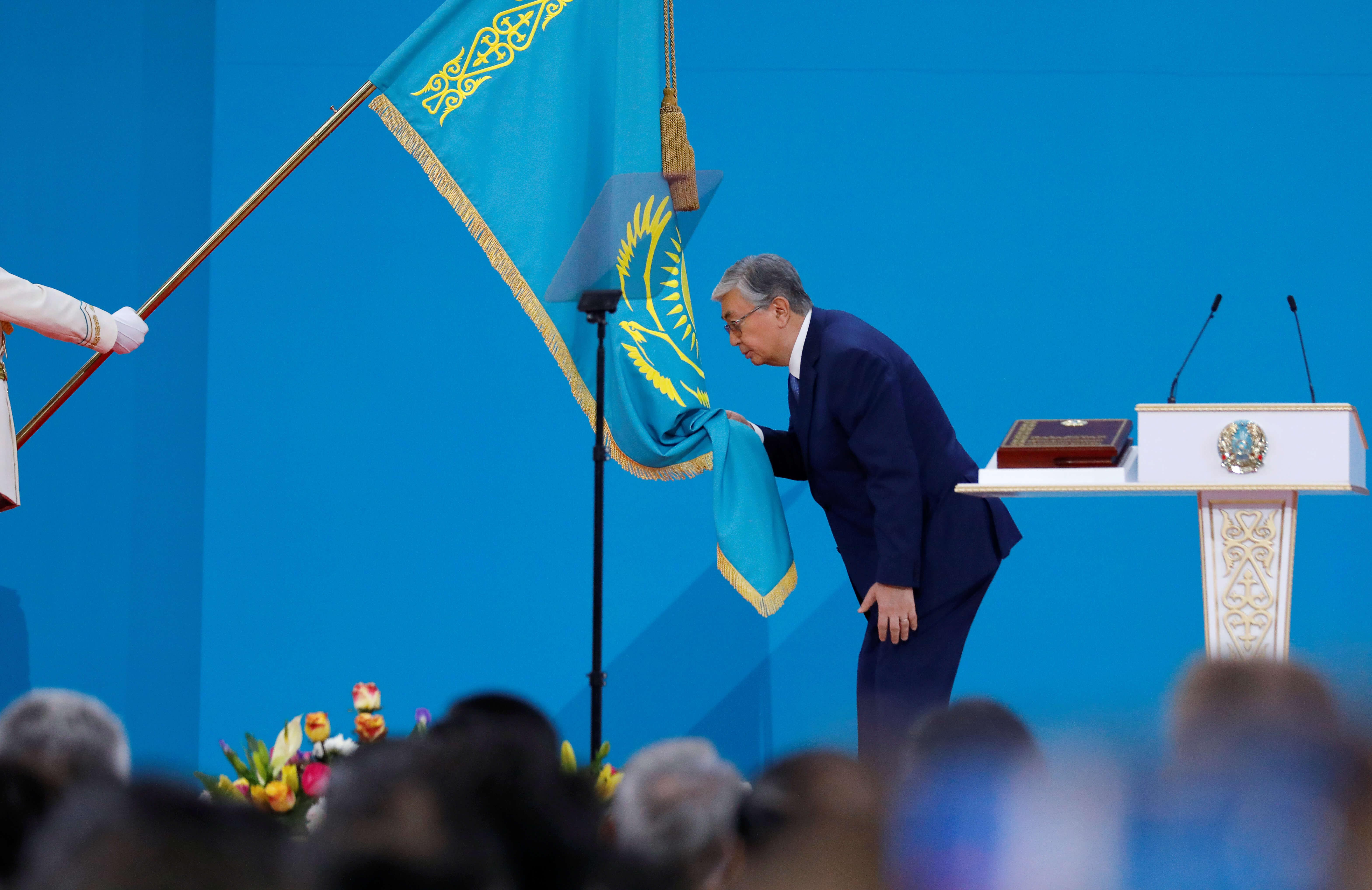 Ο Κασίμ Γιομάρτ Τοκάγεφ  ορκίστηκε νέος πρόεδρος του Καζακστάν