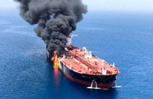 """""""Δάκτυλο"""" των ΗΠΑ βλέπει το Ιράν πίσω από την επίθεση στα δεξαμενόπλοια"""