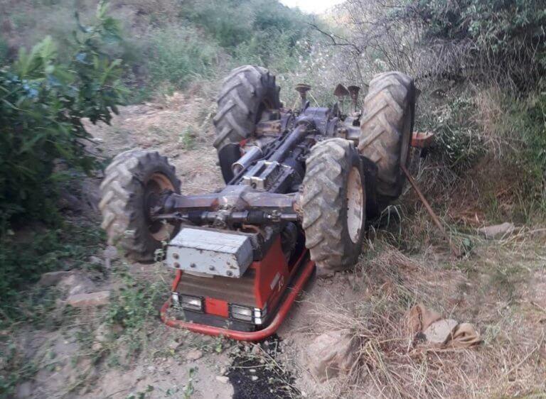 Αχαϊα: Σκοτώθηκε πατέρας τριών παιδιών με το τρακτέρ που οδηγούσε! Η μοιραία προσπάθεια να ανέβει ύψωμα